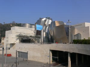 Entracne to the Guggenheim Museum