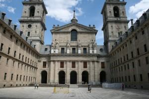 Palacio y Monasterio de El Escorial Courtyard