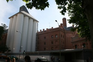 Library with old Silos