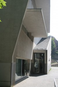 Entry to Administration Building