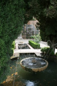 Room of Generalife Gardens