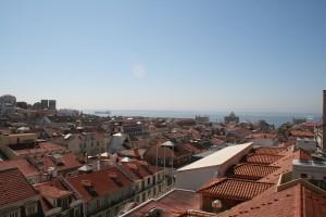 View from Santa Justa Lift