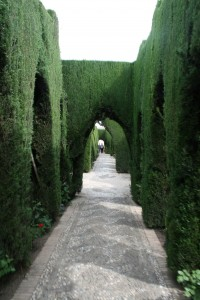 Hall of Generalife Gardens