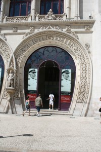Rossio Train Station Entry