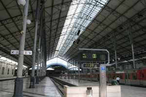 Rossio Train Station Train Shed