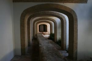 Alcazar Hallway with Ruins