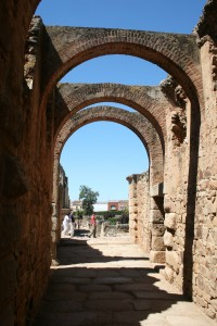 Entry to Roman Theater