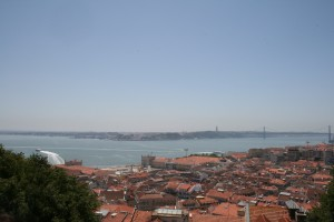 View from Citadel of Sao Jorge