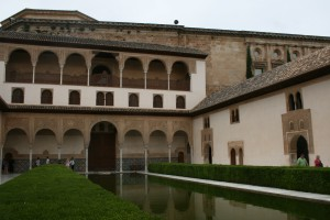 Courtyard of Alhambra Palace