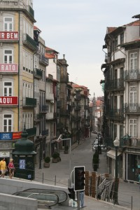 Street of Porto