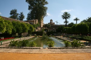 Gardens in front of Alcazar