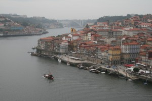 Main section of city from Dom Luis Bridge
