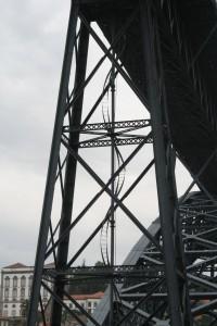 Spiral ladder of Dom Luis Bridge