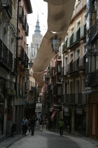 Streets of Toledo with Catedral