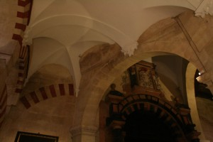 Bad interactions of Cathedral arches and Mosque arches