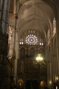 Interior of Catedral de Santa Maria de Toledo