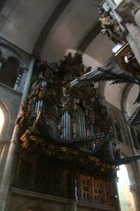 Organ in Catedral de Santiago